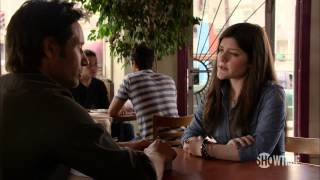 Californication Season 6: Episode 8 Clip - Studying Your Face
