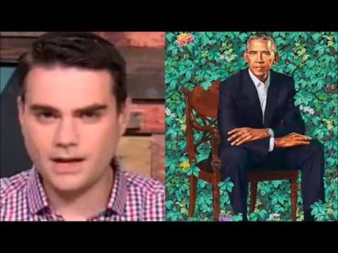 Ben Shapiro ROASTING Obama's presidential portrait. MUST SEE!!