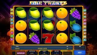 Fire Twenty Deluxe Play Money Casino Community Casoony with 100 Free Spins Casino Bonus
