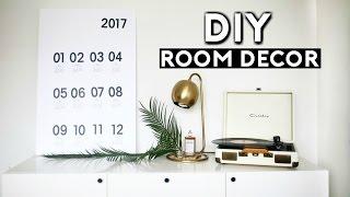 DIY Room Decor Tumblr Inspired! (Dollar Store DIYS for 2017) Easy & Cheap!