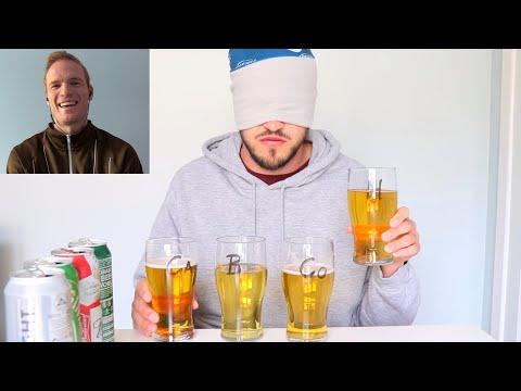 HEINEKEN COORS CARLSBERG BUDWEISER | Which Is The Best Lager? | Blind Taste Test