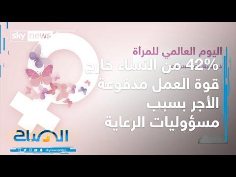 في اليوم العالمي للمرأة .. 42% من النساء خارج قوة العمل مدفوعة الأجر بسبب مسؤوليات الرعاية