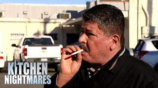 Chef Takes A Cigarette Break Instead Of Cooking Gordon's Food | Kitchen Nightmares