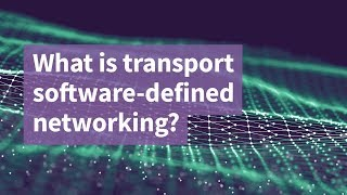 What is Transport Software-Defined Networking?
