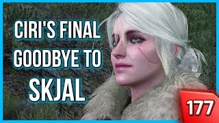 Witcher 3 ► Taking Ciri to Skjal's Grave for her Final Goodbye (Ciri Punches a Guy!) #177