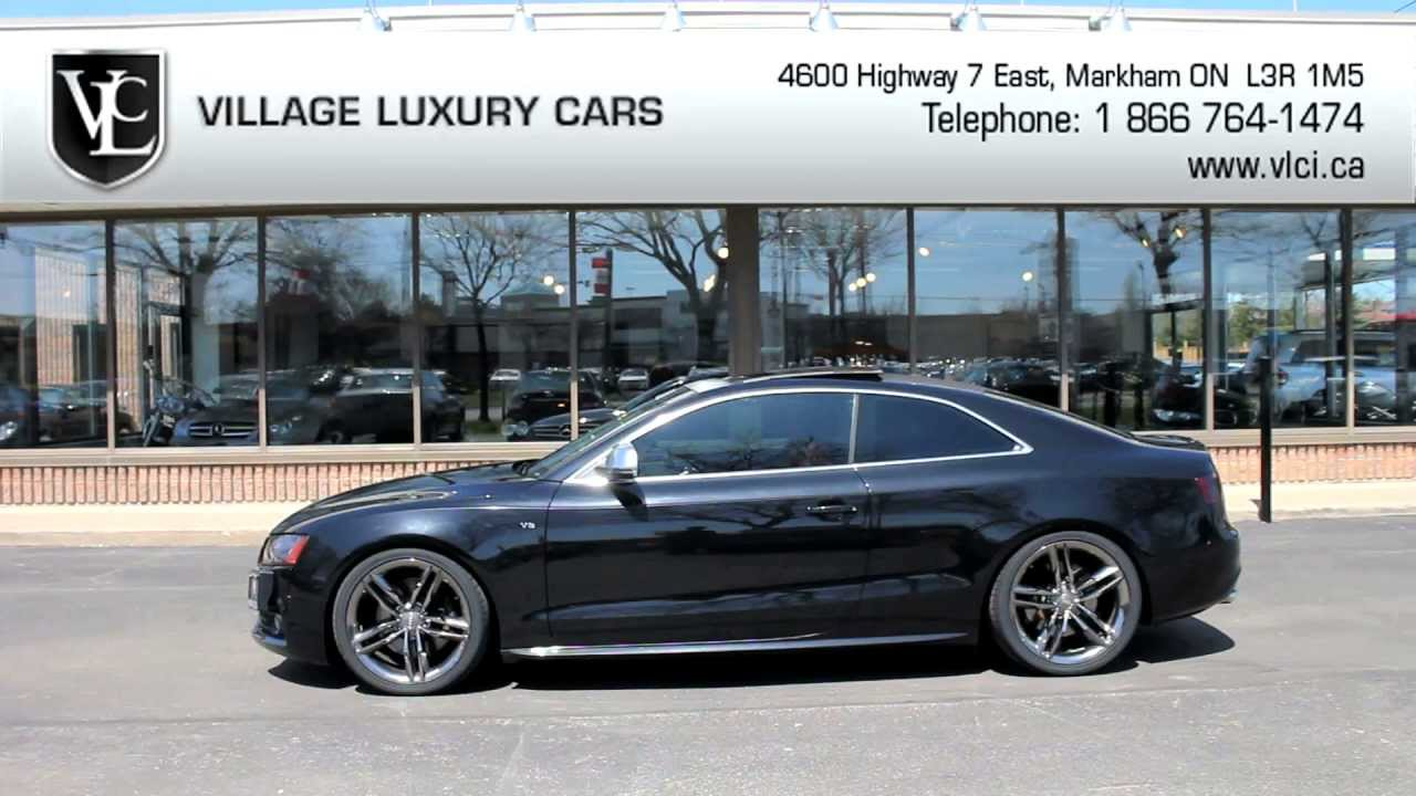 2008 Audi S5 In Review Village Luxury Cars Toronto Youtube