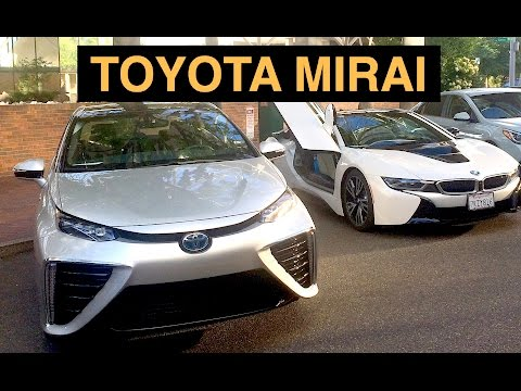 2016 Toyota Mirai Review - Are Hydrogen Cars The Future?