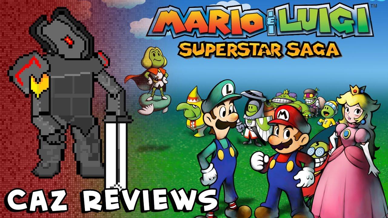Mario Luigi Superstar Saga Gba Review Caz