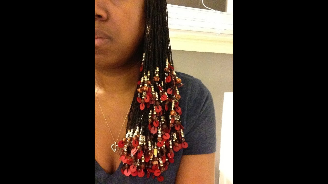 190 Natural Hair Style Tutorial Beady Bead YouTube
