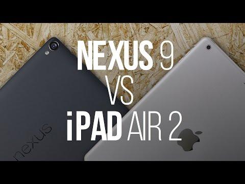 iPad Air 2 против Nexus 9