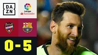 Lionel-Messi-Gala: Barcelona triumphiert haushoch: Levante - Barcelona 0:5 | La Liga | Highlights