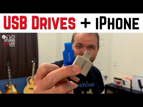 How to use USB flash drives with an iPhone (iOS 13)