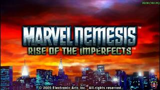 Marvel Nemesis : Rise of the Imperfects Gameplay PPSSPP