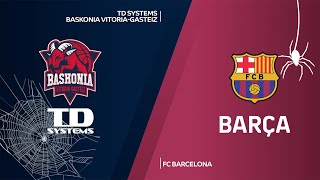 TD Systems Baskonia Vitoria-Gasteiz - FC Barcelona Highlights | EuroLeague, RS Round 6