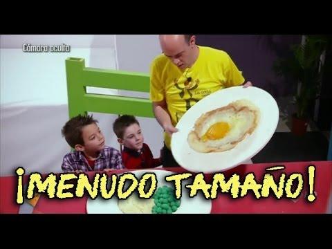 Cámara oculta de niños en El Hormiguero: ¡Nos hemos encogido!