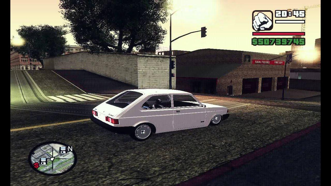 Fiat 147 Spazio Para Gta San Andreas Youtube
