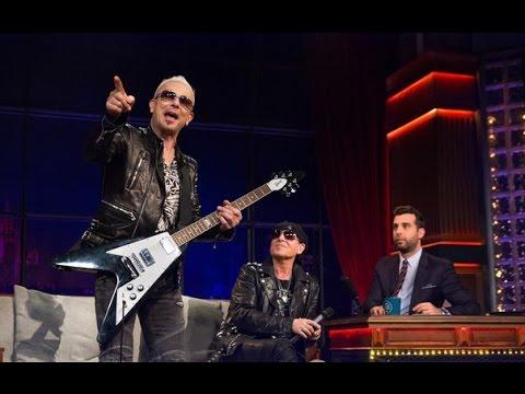 Вечерний Ургант - Эвелина Хромченко, группа Scorpions. 477 выпуск от 22.05.2015
