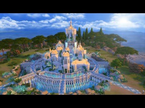 Sims 4 Speed Build | Atlantis