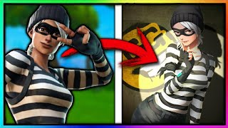 So whether they were these Fortnite skins if they were anime version