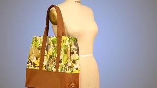 Tote Bag Sewing - Introduction (FREE SAMPLE)