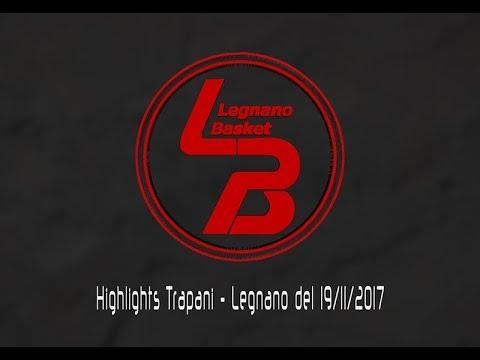 Highlights Trapani-Legnano del 19/11/2017