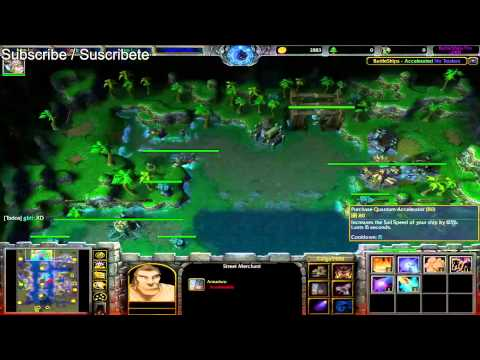 WarCraft III onplay Battleships Pro 5v5 Acelerated No Traders Dominator minidota.com (Win)