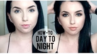 DAY TO NIGHT MAKEUP | DON