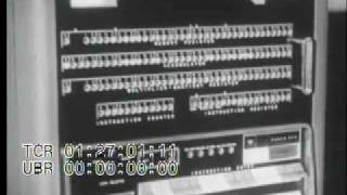 Stock Footage - Early Calculators and IBM Data Processors and Printers