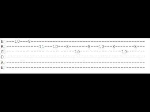 Guitar tabs penetration