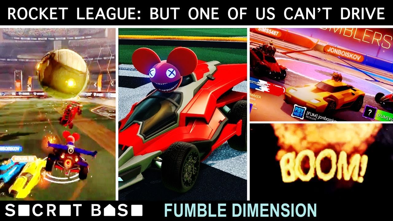 Download We invented a new Rocket League strategy: one of us can't drive. Fumble Dimension ep. 10