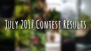 July 2017 Terrarium Contest Results!