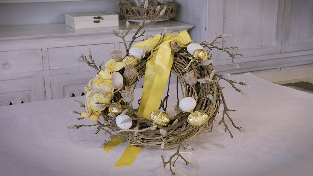 How to make an Easter Wreath Tutorial