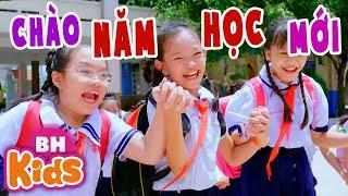 CHÀO NĂM HỌC MỚI ♫ Nhạc Thiếu Nhi Vui Nhộn [MV 4K] Như Ngọc - Hải Đăng - Ngọc Thu - Minh Duyên