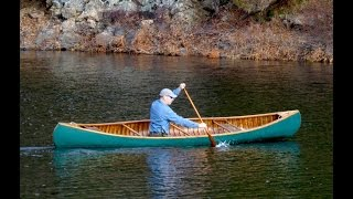 Last Paddle of 2015 - Solo Paddle Strokes