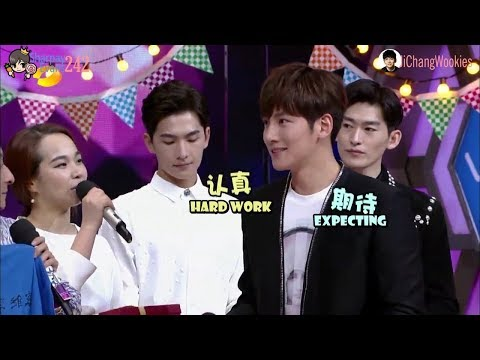 [EngSub] Ji Chang Wook - Happy Camp 20150606 (cut scene)
