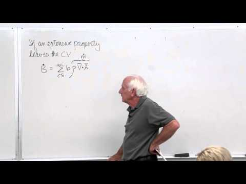 Fluid Mechanics: Reynolds Transport Theorem, Conservation of Mass, Kinematics Examples (9 of 18)