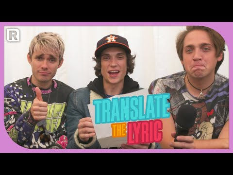 Waterparks - Translate The Lyric