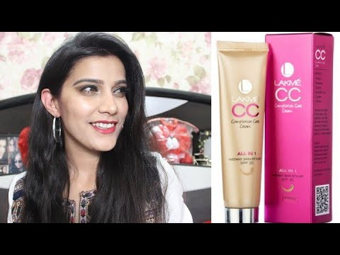 Lakme Cc Cream Makeup Tutorial