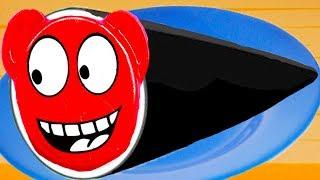 ГОТОВКА ЧЕЛЛЕНДЖ #33 Сладкие МЕДВЕ РОЛЛЫ из ЖЕЛЕЙНОГО МЕДВЕДЯ в веселой игре с Кидом