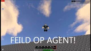 ROBLOX R.S.A New Rank: Feild Op Agent