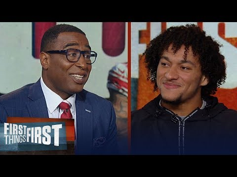 Giants Evan Engram talks OBJ trade, Saquon Barkley's leadership and more   NFL   FIRST THINGS FIRST