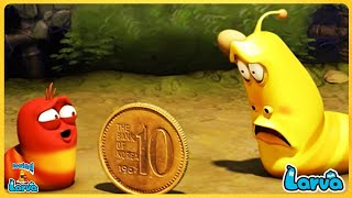 Larva: Cointoss ( Season 3) Cartoons - Comics 🍟 Comedy Movies 2020 | New Animation Movies 2020