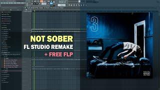 The Kid LAROI - Not Sober ft. Polo G, Stunna Gambino (Instrumental) + Free FLP Remake