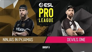 CS:GO - NiP vs. devils.one [Overpass] Map 2 - Group B - ESL Pro League Season 9 Europe