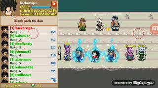Ngọc Rồng Online : Top 1 liên sever , nhận giải thưởng test bug 2 cải trang sói hecquyn như đã hứa !