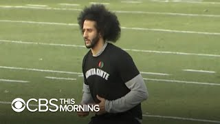 Did Colin Kaepernick workout help another player get signed by NFL?
