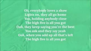 Sigrid - High Five (Lyrics Video)
