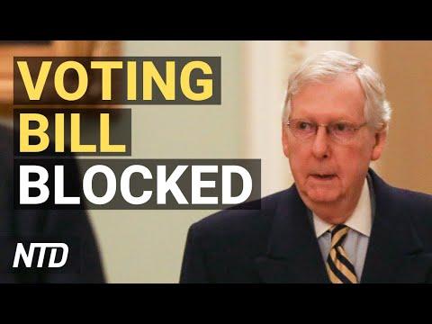 Senate Republicans Block Democrat Voting Bill; Florida Requires Students Learn About Communism   NTD