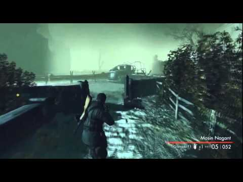 EL RUSO VS ZOMBIES -Sniper Elite: Nazi Zombie army 1/21 - YouTube