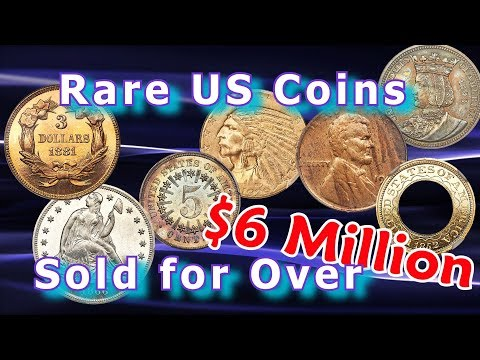Rare Coins Worth over $6 Million Sell at March 2018 US Coins Auction